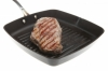 Steak in a frypan